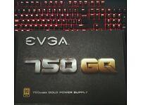 EVGA 750W GQ Series Modular PSU - BRAND NEW