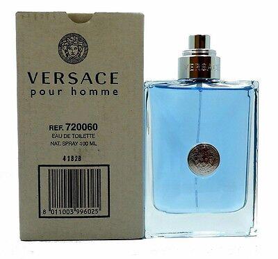 Versace Pour Homme Men 3.4 OZ 100 ML *Eau De Toilette* Spray New