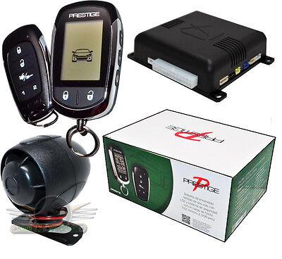 Audiovox Prestige Aps997e 2 Way Car Remote Start And Alarm  Security New Aps997c