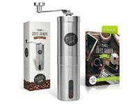 Premium Portable Coffee Grinder | Adjustable Ceramic Burrs | Excellent Quality | Brand New & Boxed |