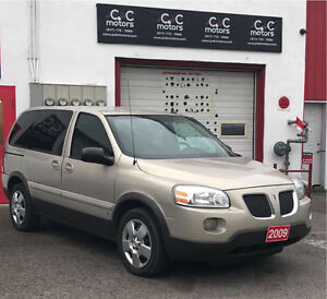 BEST DEAL IN TOWN 2009 PONTIAC MINIVAN SAFETY INSPECTION INCl.