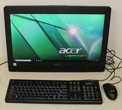 "21.5"" Acer Veriton Z4640G AIO Computer i3-7100 @ 3.90GHz 4GB Ram 1TB HDD Used"