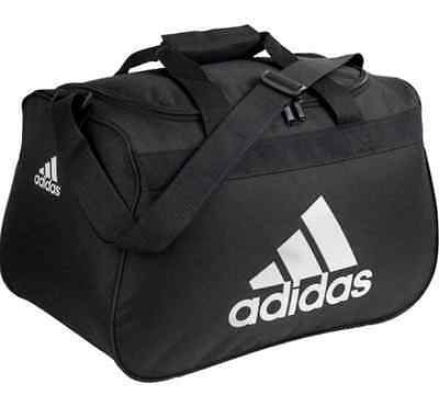 adidas Diablo Small Duffel  Gym Bag  Black White
