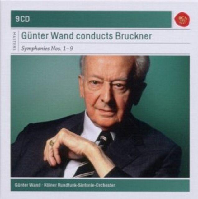 GÜNTER WAND/KRS - GÜNTER WAND CONDUCTS BRUCKNER-SINFONIEN 1-9; 9 CD CLASSIC NEU