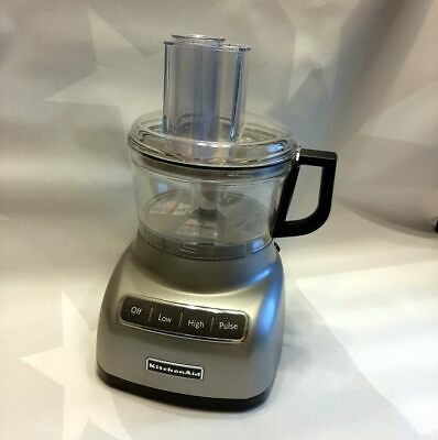 KitchenAid RKFP0711 7 Cup Food Processor - Silver
