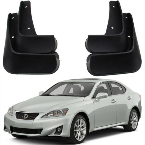 New OEM Sport Splash Guards Mud Guards Mud Flaps FOR 2007-2013 Lexus IS250 IS300