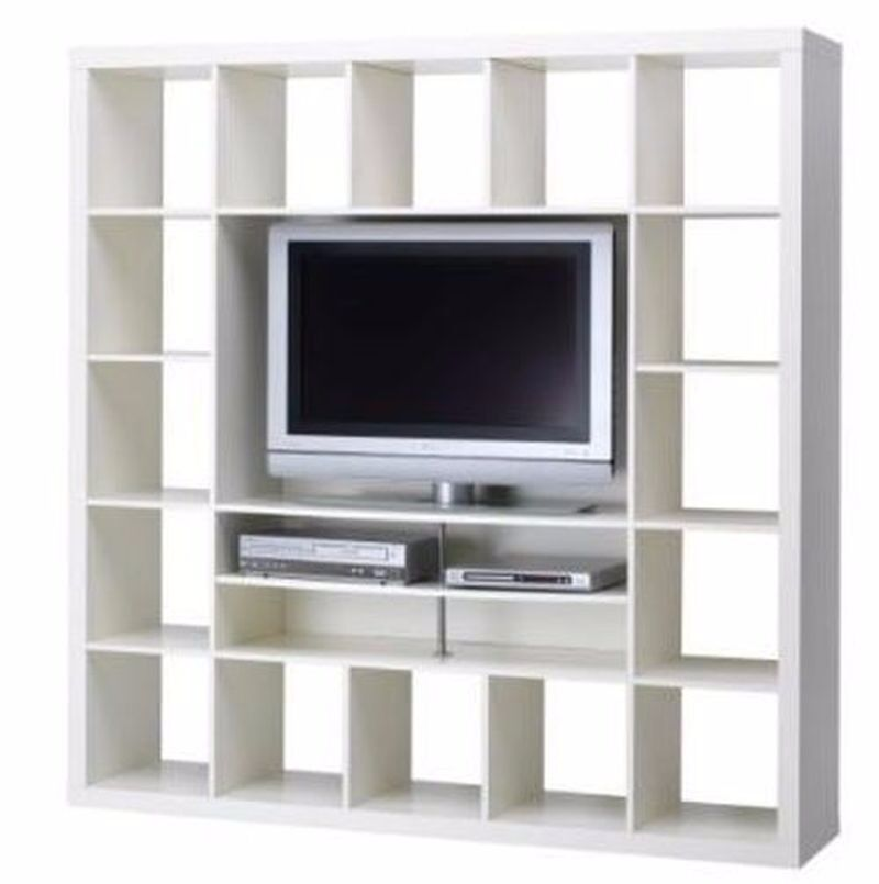 Ikea Kallax Expedit Tv Unit With Drawers And Cupboards