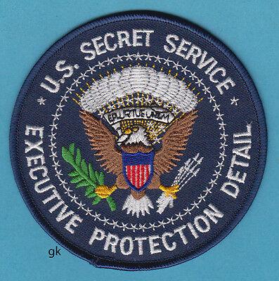 US SECRET SERVICE EXECUTIVE PROTECTION DETAIL PATCH