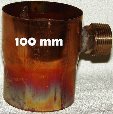 Regenwassersammler 100 mm Kupfer Regensammler Füllautomat