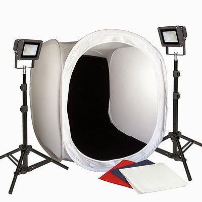 PBL 30in Led Photo Tent All Metal Body No Plastic Steve K...