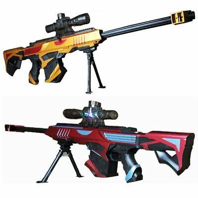 Water Bullet Nerf Gun Barrett Strike Dart Elite Vulcan Recon Bullet Blaster Guns ()