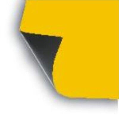 2 X 18 X 12 Sheet Flexible 30 Mil Magnet Blank Dark-yellow Magnetic Sign Vinyl