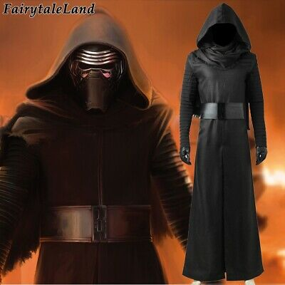Star Wars The Force Awakens Kylo Ren cosplay Costume Kylo Ren Black Outfit Suit
