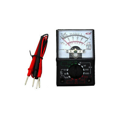 Mf-110a Analog Multimeter Electric Acdc 1000v 500ma Voltmeterammeterohm Meter