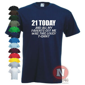 21st Birthday Shirts Spencers