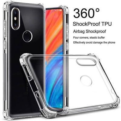 For Xiaomi Mi A1 A2 Lite 8 Note 6 Pro Transparent Soft TPU Shockproof Case Cover