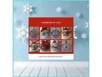 Christmas baubles Memory baubles Handmade Various styles