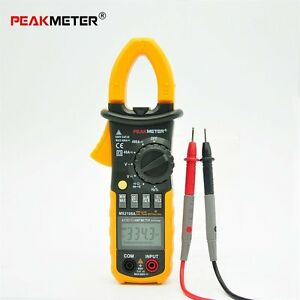 Portable For HYELEC Digital Clamp Meter Multimeter AC DC Current Volt Tester P6