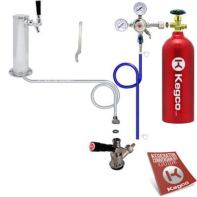 Standard Tower Kegerator Conversion Kit With 5 Lb. Co2 Tank