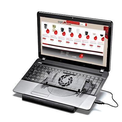 Laptop Kühler Notebook Halter Laptoptisch Tablett Tisch Lüfter Kühler Ständer