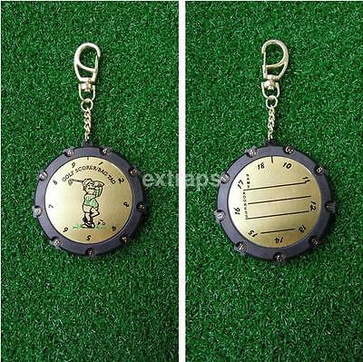 (Golf Stroke Shot Putt Score Counter Keeper Scoring Tag Clip Keychain 18 Hole US)