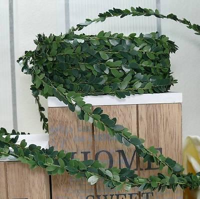 30m Buchsbaumgirlande (0,40 €/m) Girlande Buchsbaum Konfirmation Hochzeit Grün