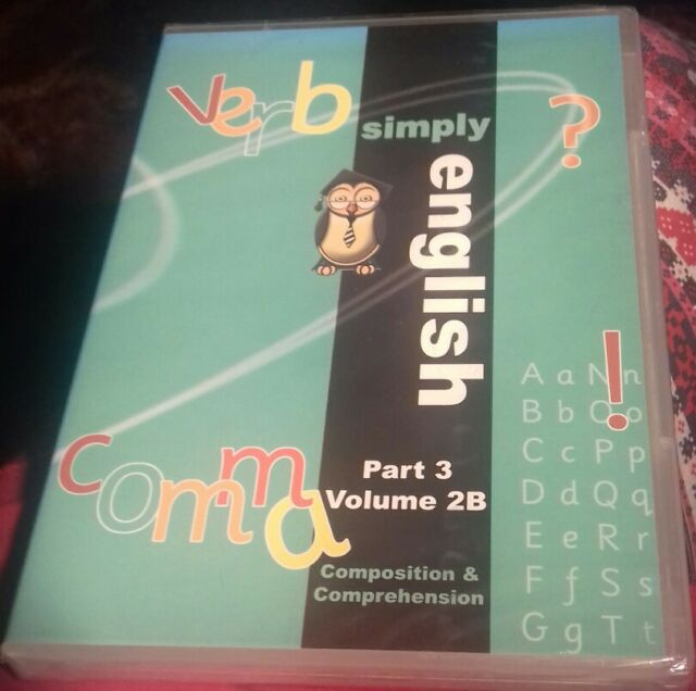 dvd simply English part 3 volume 2B composition and comprehension new sealed