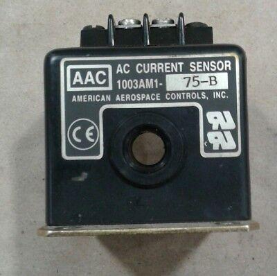 Aac American Aerospace Controls Current Sensor 1003am1-75-b 019a16
