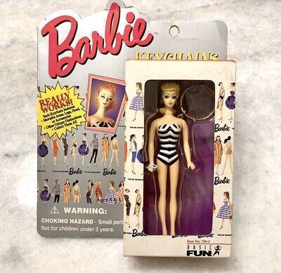 Vintage Collectible Blonde Barbie Keychain