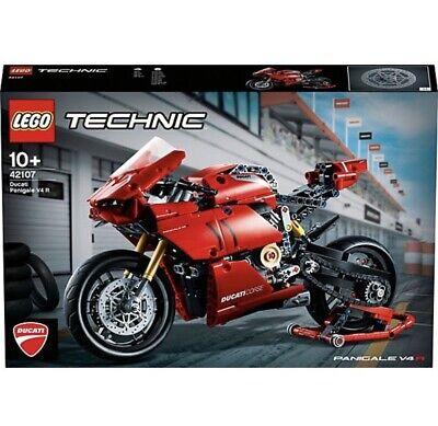 LEGO® Technic 42107 Ducati Panigale V4 R Motorrad NEU&OVP Vom Händler