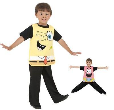 Spongebob Patrick 2 in 1 Kostüm KINDER Wechselkostüm (2 Kostüme In 1)