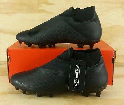 05a68c33972 Nike Phantom Vision Academy FG Soccer Cleats Triple Black AO3258-001 Size 9