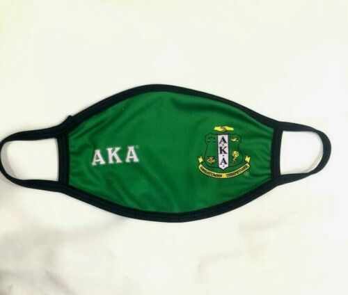 ALPHA KAPPA ALPHA FACE MASK, AKA FACEMASK , ALPHA KAPPA ALPHA FACE MASK SORORIT