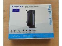 Netgear N300 Wireless ADSL2+ Modem Router