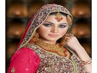 ASIAN BRIDAL MAKEUP AND HAIR STYLE ARTIST, BOLLYWOOD INDIAN & ARABIC MIDDLE EAST SALON MANCHESTER