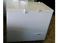 a285 white hotpoint chest freezer new graded with manufacturers warranty can be delivered
