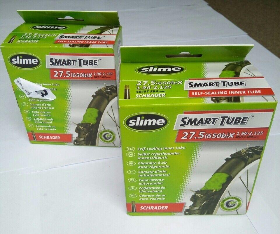 "CAR Cycle  Inner Tube 27.5/"" x 1.50 650B SCHRADER Bike AUTO VALVE"