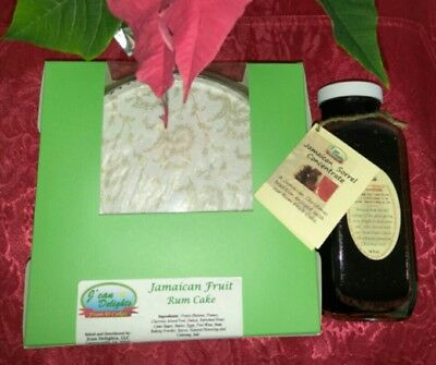 Jamaican Fruit Cake and Sorrel Drink Concentrate no -