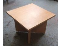 Veneer side table