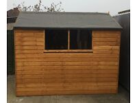 Delivered and assembled 8x6 shed