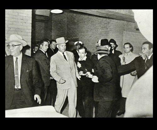 Jack Ruby Shooting LEE HARVEY OSWALD PHOTO, Nov 24,1963, John F Kennedy JFK