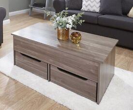 Ultimate Storage Coffee Table - Walnut £89.99 ONO