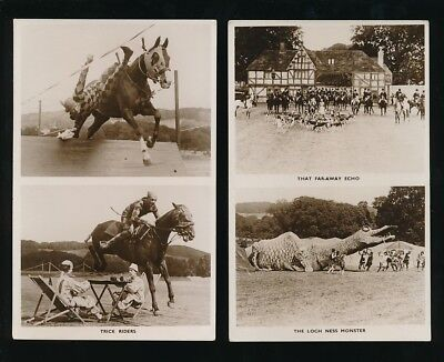 Wilts Wiltshire TIDWORTH TATTOO x5 real photo RP PPCs by Gale & Poulden