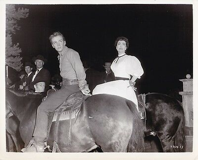 JOAN CRAWFORD BEN COOPER Original Vintage 1954 JOHNNY GUITAR Western Photo (Joan Cooper)