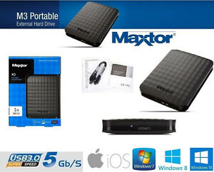 hard disk esterno 2 5 maxtor seagate 1tb 2tb 4tb 500gb ex