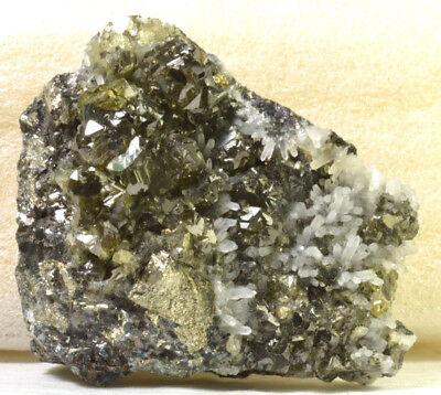 2174 Sphalerite  Cleiophane   Galena  Quartz  Pyrite   Bulgaria