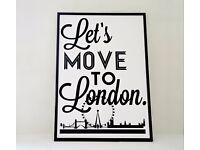 Professional Couple Looking for a 1 Bedroom Flat in South West London in November