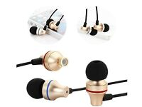Gaoye Gold Plated Noise Cancelling Earphones Headset for Iphone Ipads Ipod etc Brand New & Boxed