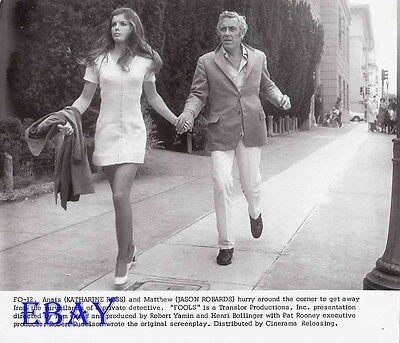 Katharine Ross Busty Leggy  Jason Robardsv Fools Vintage Photo