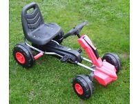 Rubber Wheeled Go Kart